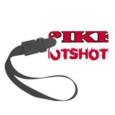 Pike-Hotshots-Shirtback-Red Luggage Tag