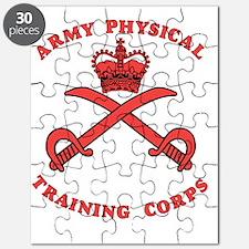 British-Army-PTI-Logo-Red-Bonnie Puzzle