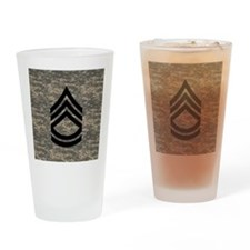 Army-SFC-ACU-Tile-PNG Drinking Glass