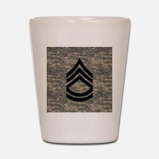 Army-SFC-ACU-Tile-PNG Shot Glass