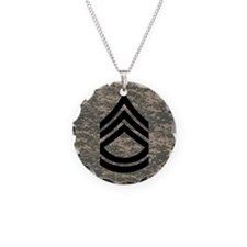 Army-SFC-ACU-Tile-PNG Necklace Circle Charm