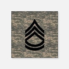 "Army-SFC-ACU-Tile-PNG Square Sticker 3"" x 3"""