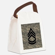 Army-SFC-ACU-Tile-PNG Canvas Lunch Bag