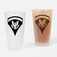 Army-Spec5-Pin-PNG Drinking Glass