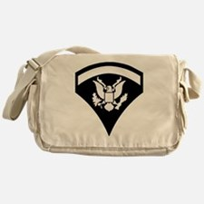 Army-Spec5-Pin-PNG Messenger Bag