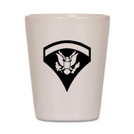 Army-Spec5-Pin-PNG Shot Glass