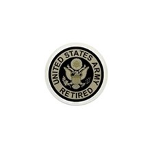 Army-Retired-Subdued Mini Button