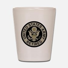 Army-Retired-Subdued Shot Glass