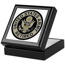 Army-Retired-Subdued Keepsake Box