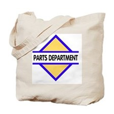 Sign-Parts-Department Tote Bag
