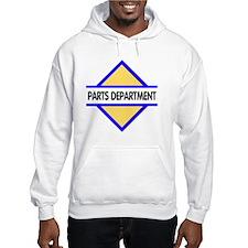 Sign-Parts-Department Jumper Hoody