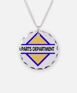 Sign-Parts-Department Necklace