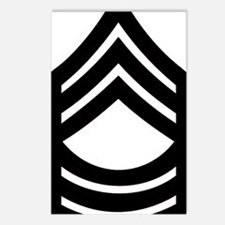 Army-MSG-Pin-Subdued Postcards (Package of 8)