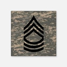 """Army-MSG-Subdued-Tile-ACU Square Sticker 3"""" x 3"""""""