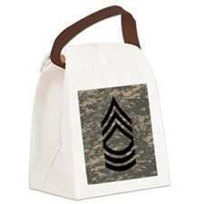 Army-MSG-Subdued-Tile-ACU Canvas Lunch Bag