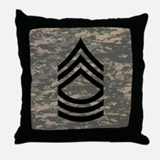 Army-MSG-Subdued-Tile-ACU Throw Pillow