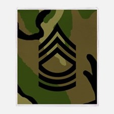 Army-MSG-Subdued-Mousepad-Woodland Throw Blanket