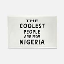 The Coolest Nigeria Designs Rectangle Magnet