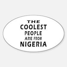 The Coolest Nigeria Designs Decal