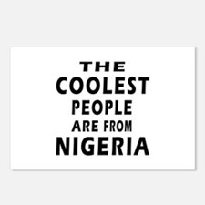 The Coolest Nigeria Designs Postcards (Package of