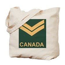 Canada-Army-Corporal-Slide Tote Bag