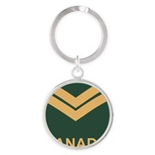 Canada-Army-Corporal-Slide Round Keychain