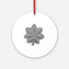 LtCol-Bonnie Round Ornament