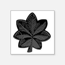 """Delete-From-Here-LtCol-Subd Square Sticker 3"""" x 3"""""""