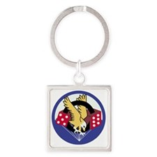 Army-506th-Infantry-Para-Dice Square Keychain