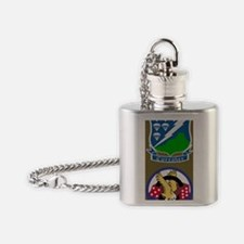 Army-506th-Infantry-Currahee-Mousep Flask Necklace