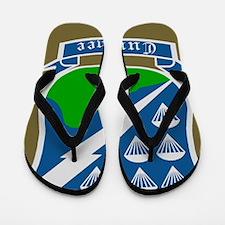 Army-506th-Infantry-Currahee-Tile Flip Flops
