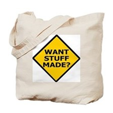 Misc-Want-Stuff-Made Tote Bag