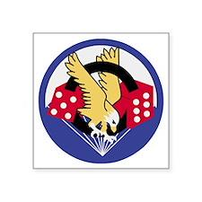 "Army-506th-Infantry-Para-Di Square Sticker 3"" x 3"""
