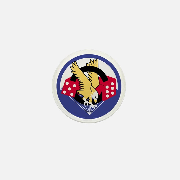 Army-506th-Infantry-Para-Dice-Patch-PN Mini Button