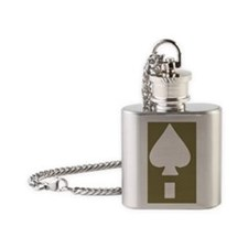 Army-506th-PIR-Helmet-BN2-Tile Flask Necklace