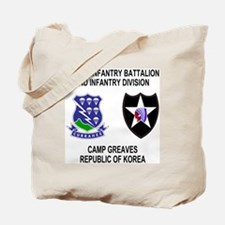 Army-506th-Infantry-Korea-Shirt Tote Bag