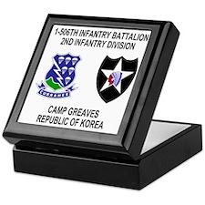 Army-506th-Infantry-Korea-Shirt Keepsake Box