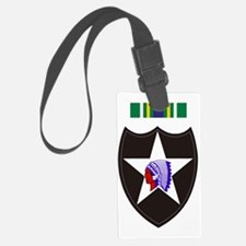 Army-2nd-Infantry-With-Korean-Se Luggage Tag