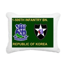 Army-506th-Infantry-2nd- Rectangular Canvas Pillow