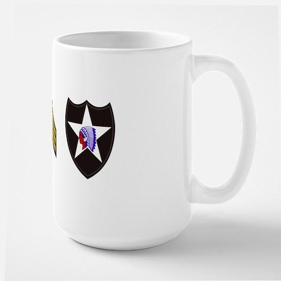 Army-506th-Infantry-2nd-Infantry-Div-SG Large Mug