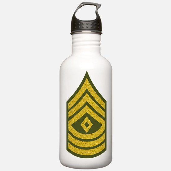2-Army-1SG-Gold-Green- Water Bottle