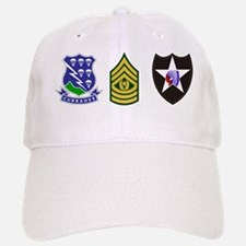 Army-506th-Infantry-2nd-Infantry-Div-CSM-Mu Baseball Baseball Cap