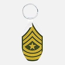 Army-SGM-Gold-Green-Fancy Keychains