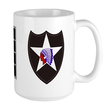 Army-506th-Infantry-2nd-Infantry-Div-CW Large Mug