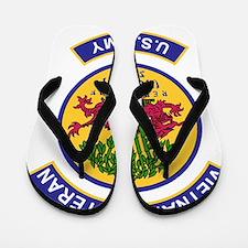 Army-Vietnam-Veteran-506th-Infantry-Col Flip Flops