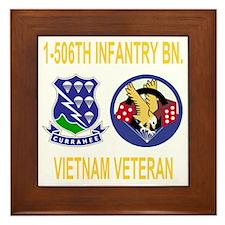 2-Army-506th-Infantry-1-506th-Vietnam- Framed Tile