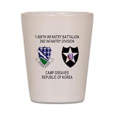 2-Army-506th-Infantry-Korea-Shirt Shot Glass