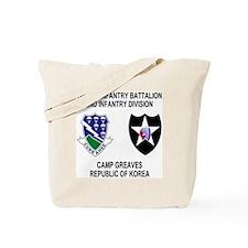 2-Army-506th-Infantry-Korea-Shirt Tote Bag