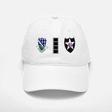 2-Army-506th-Infantry-2nd-Infantry-Div-CW4-Mu Baseball Baseball Cap