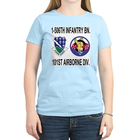 2-Army-506th-Infantry-1-506t Women's Light T-Shirt